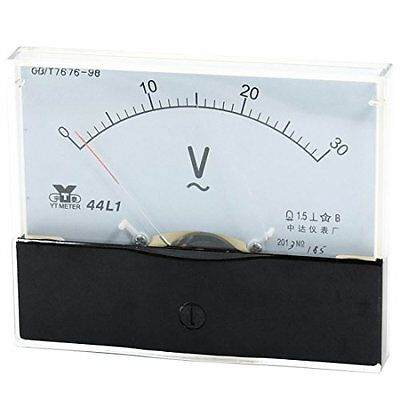 1analog Panel Volt Voltmeter Meter Ac 0-30v Measuring Range 44l1 New