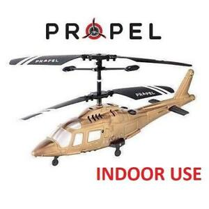 NEW MICRO WIRELESS RC HELICOPTER PL-1255 216880475 PROPEL INDOOR TOY BEGINNER AGES 8+ RC RADIO REMOTE CONTROLLED GOLD