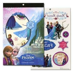 Disneys Temporary Tattoo Book Party Accessory (Frozen)