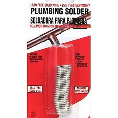 Oatey 53026 Lead Free Plumbing Solder 1oz. Repair Copper Pipe -