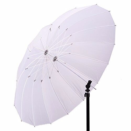 "57"" Soft White Umbrella Photo Studio Translucent Light Softbox Diffuser"