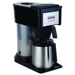 Bunn Bt Velocity Brew 10-Cup Thermal Carafe Home Coffee Brewer,