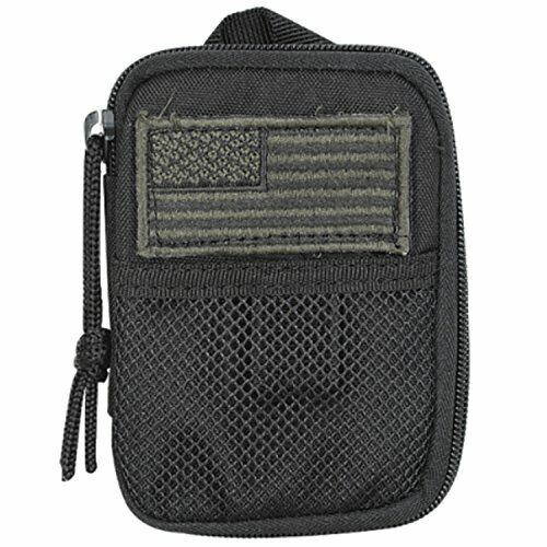 Voodoo Tactical 15-843601000 Black Compact BDU Wallet Pouch