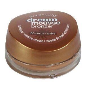 Maybelline Dream Mousse Bronzer 03 Bronze 18ml