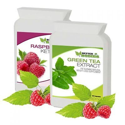 Better Bodies Raspberry Ketones & Green Tea Diet Colon Cleanse Pack Weight Loss