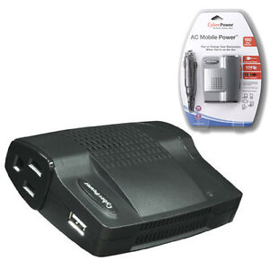 Cyberpower-160W-Mobile-Power-Inverter-w-USB-Charger-Built-in-Surge-Protection