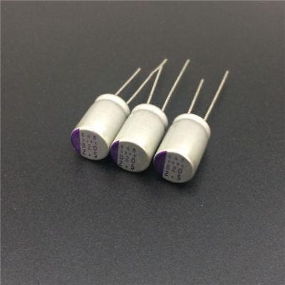 10pcs Nippon OSCON 820uF 2.5V 105C Solid Polymer Radial Capacitor 8mm x 8.5 mm