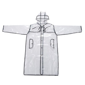 Clear raincoat - Perfect for festivals.