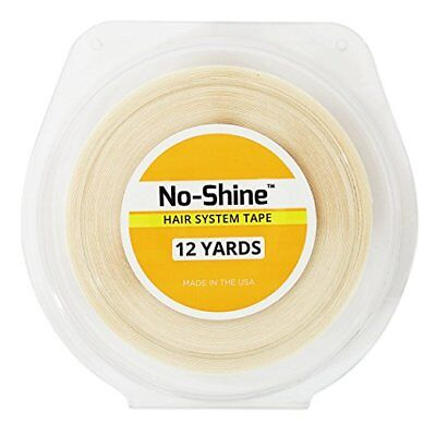 """Walker No Shine 1"""" X 12 Yard Roll (Permanent Wear Tape)~Wigs Hair Piece& Toupee. for sale  Shipping to India"""