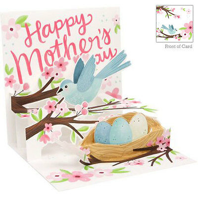 3D Pop Up Greeting Card from Up With Paper - NESTING BIRD - UP-WP-MD-1207