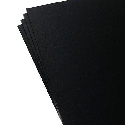 "4 Pack Kydex Plastic Sheet Black 8"" X 12"" X .080"" *"