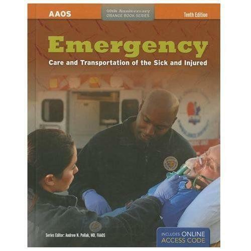 Emergency care and transportation of the sick and injured ebay fandeluxe Gallery