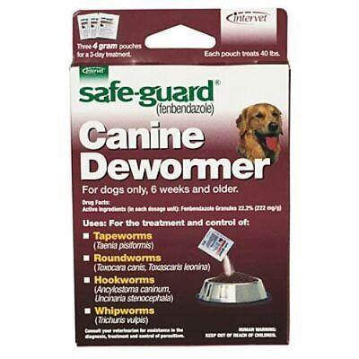 Safe-Guard Canine Dog Health Canine Dewormer, 4 gram Large