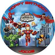 Super Hero Squad Cake