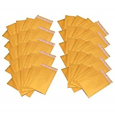 4 X 7 000 Kraft Bubble Mailers Self Seal Padded Shipping Envelopes - 500 Pack