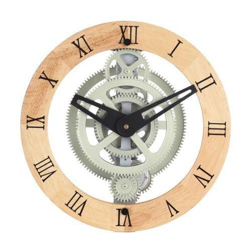Moving Gear Wall Clock Ebay