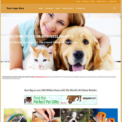 Best Affiliate Home Make Money! Online Pet Care Store Website Business For (Best Home Sales Business)