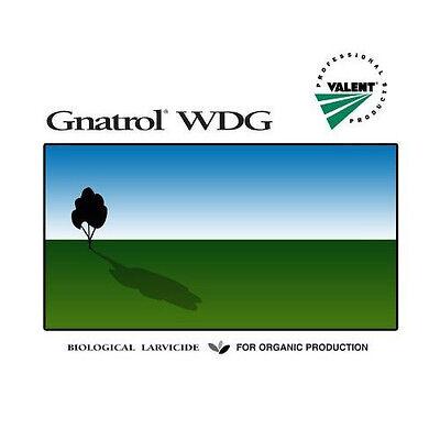 2 pounds GNATROL WDG Organic BTI Fungus Gnat Control. Also kills mosquito larvae