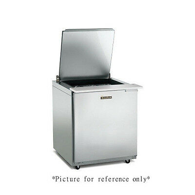 Traulsen Ust276-l 27 Refrigerated Counter- Hinged Left- 6 Pan Capacity