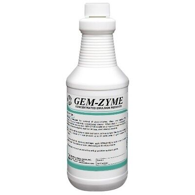Cci Gem-zyme Stencilemulsion Remover Concentrate. 1 Quart Free Shipping