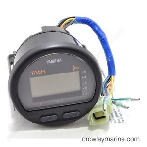 CADRAN TACOMETER MULTIFONCTION YAMAHA OUTBOARD 6Y5-8350T-04-00