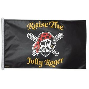 Pittsburgh Pirates Raise the Jolly Roger Flag 3 x 5 Flag