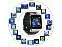 BRAND NEW SMART WATCHES WITH SIM CARD SLOT AND BLUETOOTH CONNECTIVITY