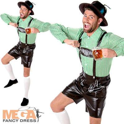 Alpine Man Mens Fancy Dress Bavarian German Beer Fest Oktoberfest Adults - Men's Alpine Kostüm