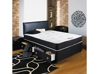 🔥💗🔥CHEAPEST PRICE🔥💗🔥BRAND New Double & King Divan BED w 13inch Memory Foam Orthopedic Mattress