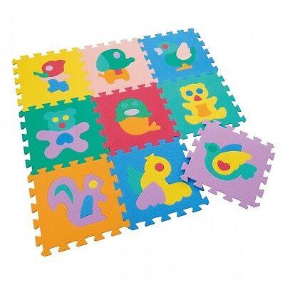 Animal Puzzle Mats 9-PCS