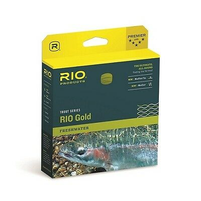 Rio InTouch Gold WF5F Fly Line Moss Gray Gold FREE FAST SHIPPING 6-20685