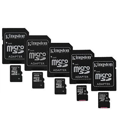 Original Kingston 8GB 16GB 32GB 64GB 128GB Micro SD Speicherkarte Handy