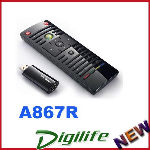AVerMedia AVerTV Volar HD Nano Digital TV Tuner USB Capture DVB-T Remote A867R