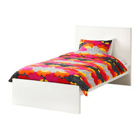 Ikea Malm Single Bed + Mattress Great Conditions
