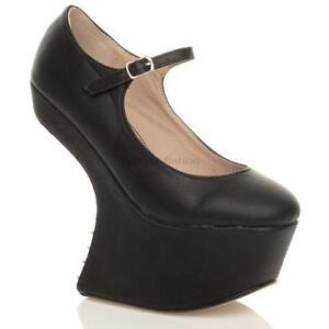 black wedges women s shoes ebay
