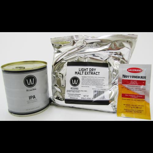 $38.00 - WilliamsWarn Premium Session IPA Home Brew Ingredient Kit Beer Making Ale Kit