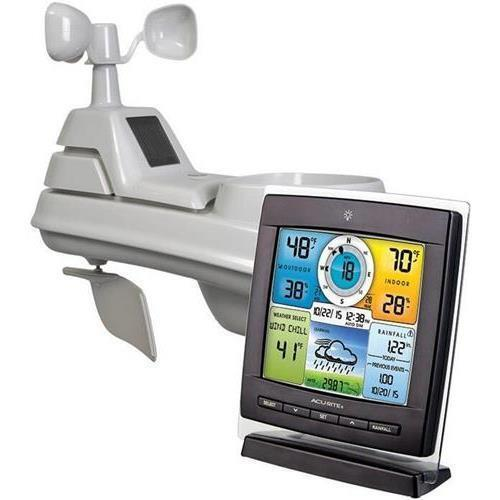 Acurite 01528 Pro 5-in-1 Color Weather Station with Wind and Rain