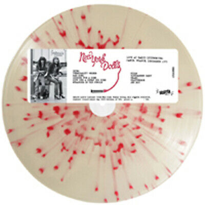 LIVE AT RADIO LUXEMBOURG, PARIS 1973  by NEW YORK DOLLS  Vinyl LP  RRSCV007