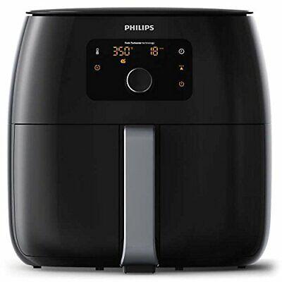 Philips Avance XXL Digital Twin TurboStar Airfryer Black - HD9650/96 (Grade B)