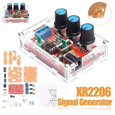 Xr2206 Function Signal Generator Diy Kit Sinetrianglesquare Wave 9-12v Dc Cao