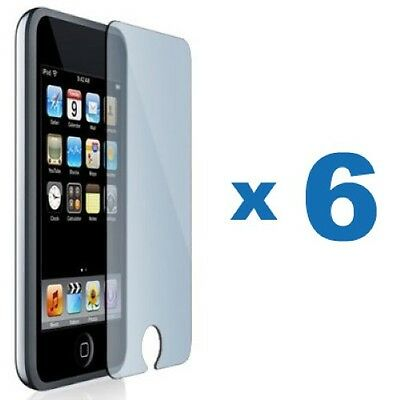 6 x Clear Screen Protector Cover Guard for iPod Touch 2 3 2nd 3rd Gen 2G 3G