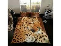 Leopard 3D duvet Set