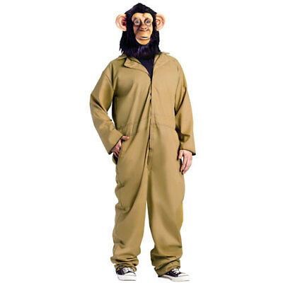 30 Minutes Or Less Chimp Halloween Movie Costume (Halloween Costume Less)