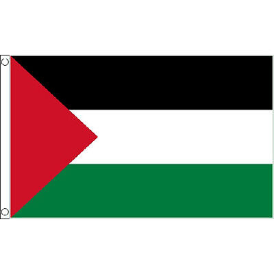 Palestine Large Flag 8Ft X 5Ft Palestinian Country Banner With 2 Eyelets New