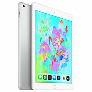iPad 32GB Silver 6th Gen (latest) - Brand New Sealed in the Box