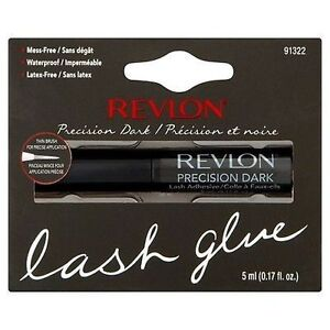 Revlon-PRECISION-LASH-ADHESIVE-DARK-False-Fake-Eyelash-Glue-Brush-On-Lashes