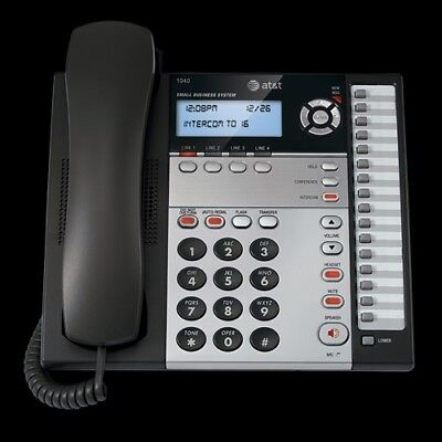 Att 1040 4-line Expandable Corded Phone System With Speakerphone