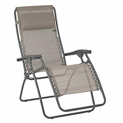 LAFUMA MOBILIER Sedia a sdraio reclinabile Relax, Pieghevole e regolabile,