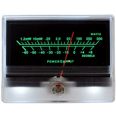 Vu Meter Db Level Header Audio Preamp Power Amplifier Chassis Backlight