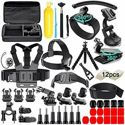 61 in 1 Action Camera Accessories Kit for GoPro Hero 9 8 7 6 5 4 Hero Session